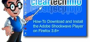 Install Adobe Shockwave Player on Firefox