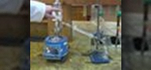 Perform steam distillation in the chemistry lab