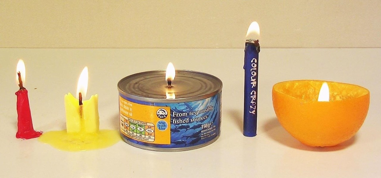 5 easy ways to make an emergency diy candle from household