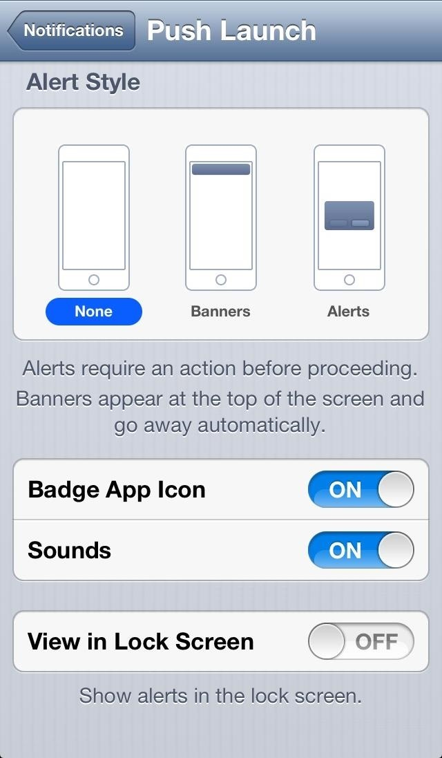 how to change pull down screen on iphone