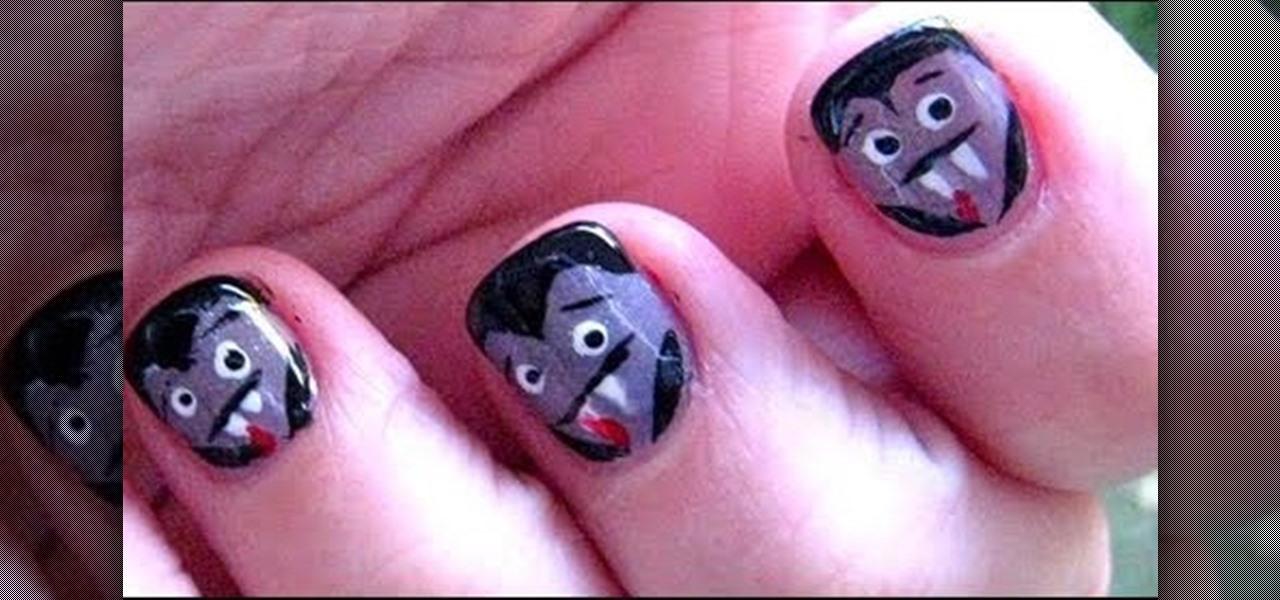 How to Do Halloween Spun Sugar Nails « Nails & Manicure