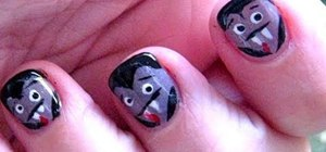 How To Paint Devilish Monster Nails For Halloween Nails Manicure