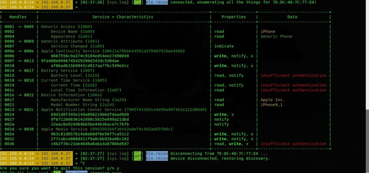 How to Target Bluetooth Devices with Bettercap « Null Byte