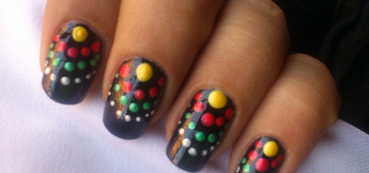 How To Pastel Polka Dots Nail Design Nails Manicure Wonderhowto
