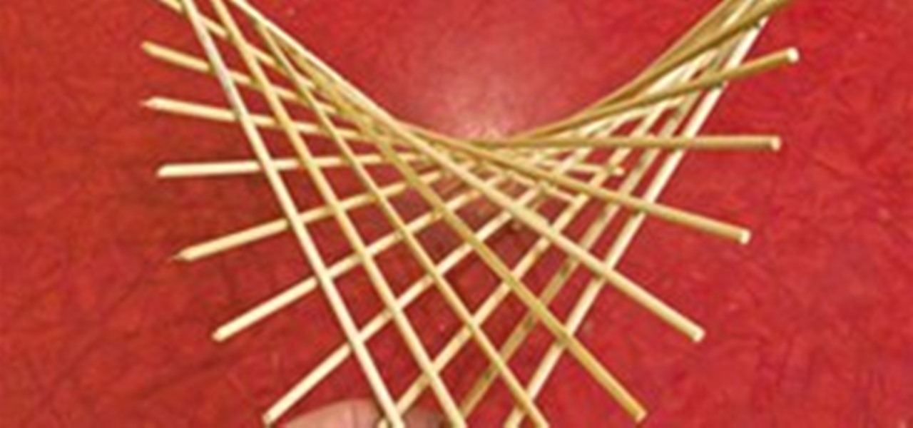 How To Make A Hyperbolic Paraboloid Using Skewers 171 Math Craft