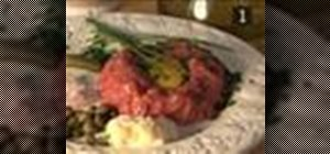 Make steak tartare