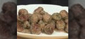 Make Swedish meatball appetizers