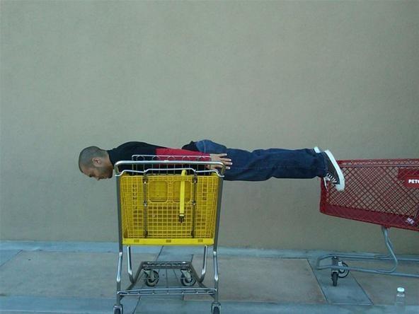 The Lazy Man's Parkour