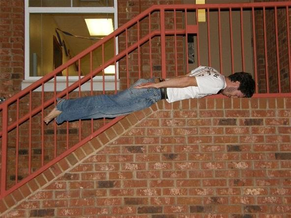 The Lazy Man's Parkour