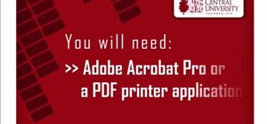 Make a PDF out of almost anything on a Windows PC