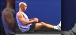 Do seated rows with  a theraband