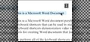 Use Microsoft Word shortcuts