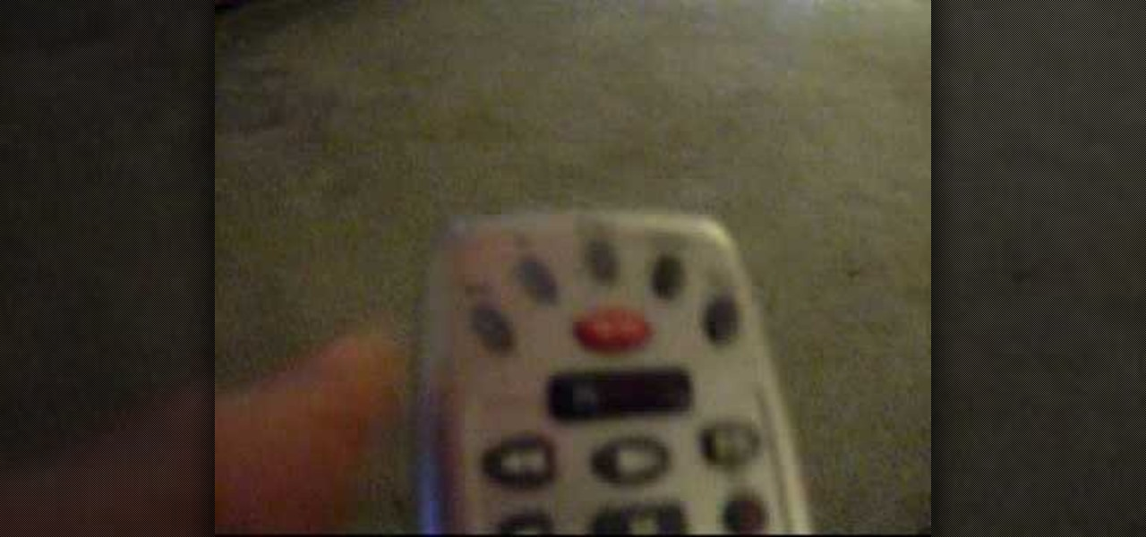 How to Program a Comcast remote « TVs & Projectors :: WonderHowTo