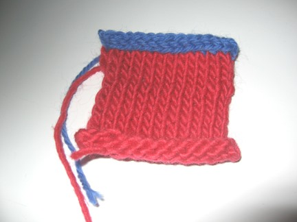 How to Do an I Cord Bind Off