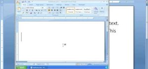 Insert movie files into a MS Word document