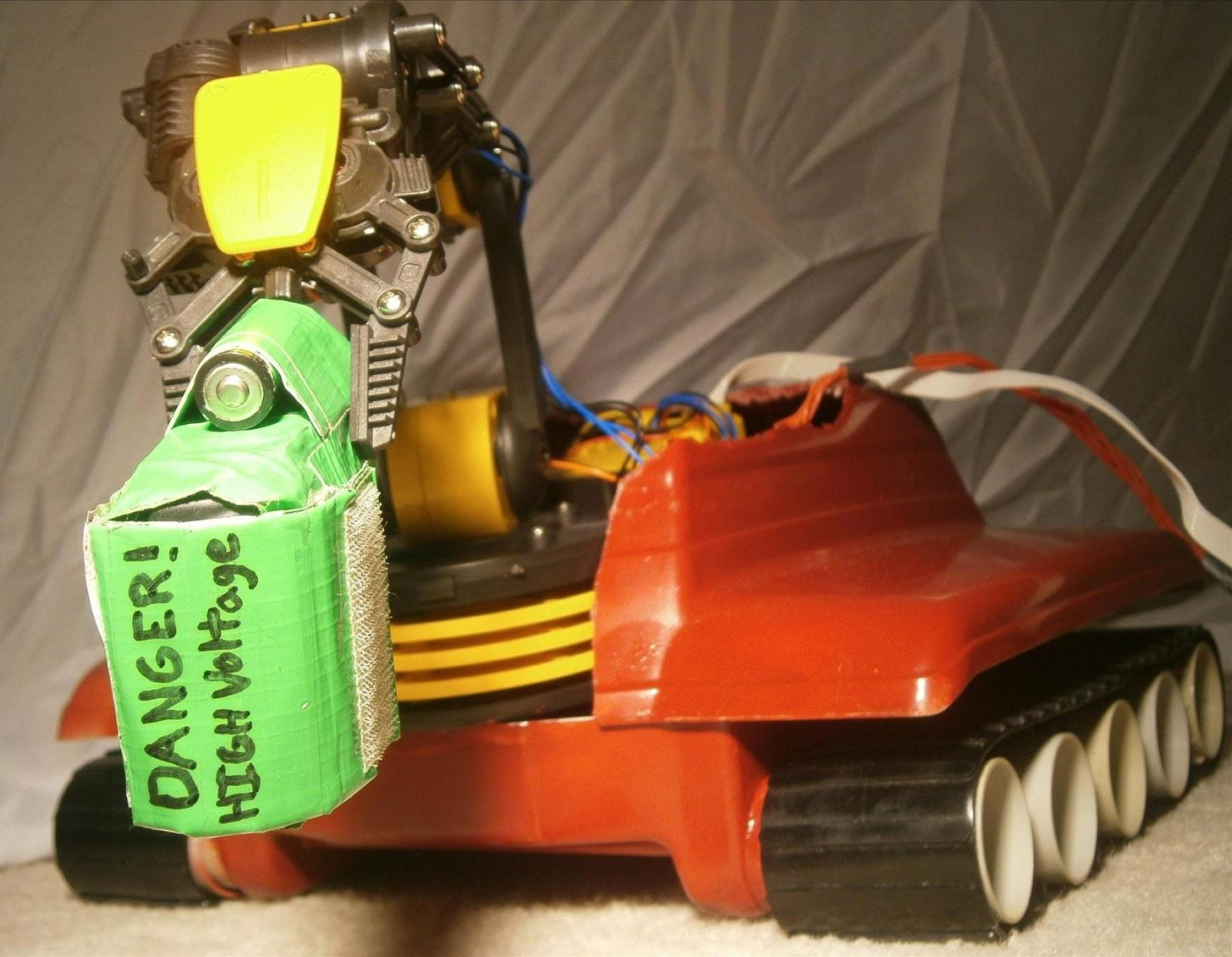 How to Build a Bomb-Defusing Robot Tank for the Revolution