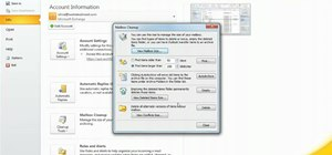 Force your Microsoft Outlook 2010 inbox to automatically clean itself