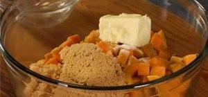 Bake a gluten-free sweet potato casserole