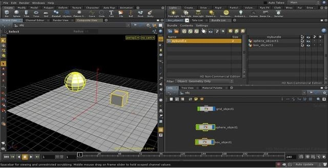 Use and work with bundles in Houdini 10