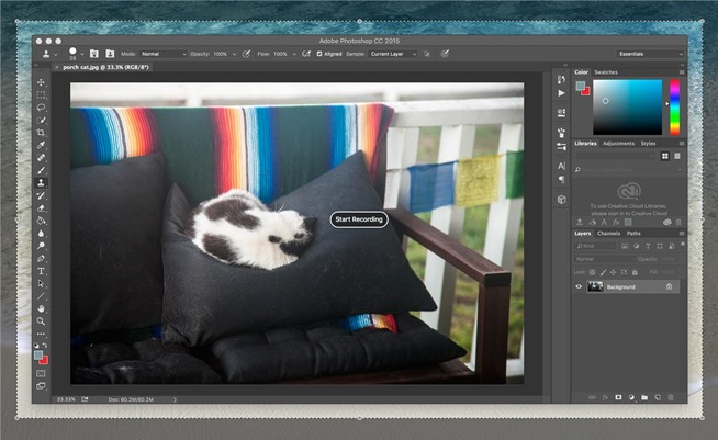 how to use quicktime to record screen and audio