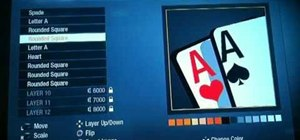 Make a pocket aces Call of Duty Black Ops player card / emblem