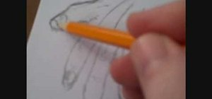 Draw human hands in pencil