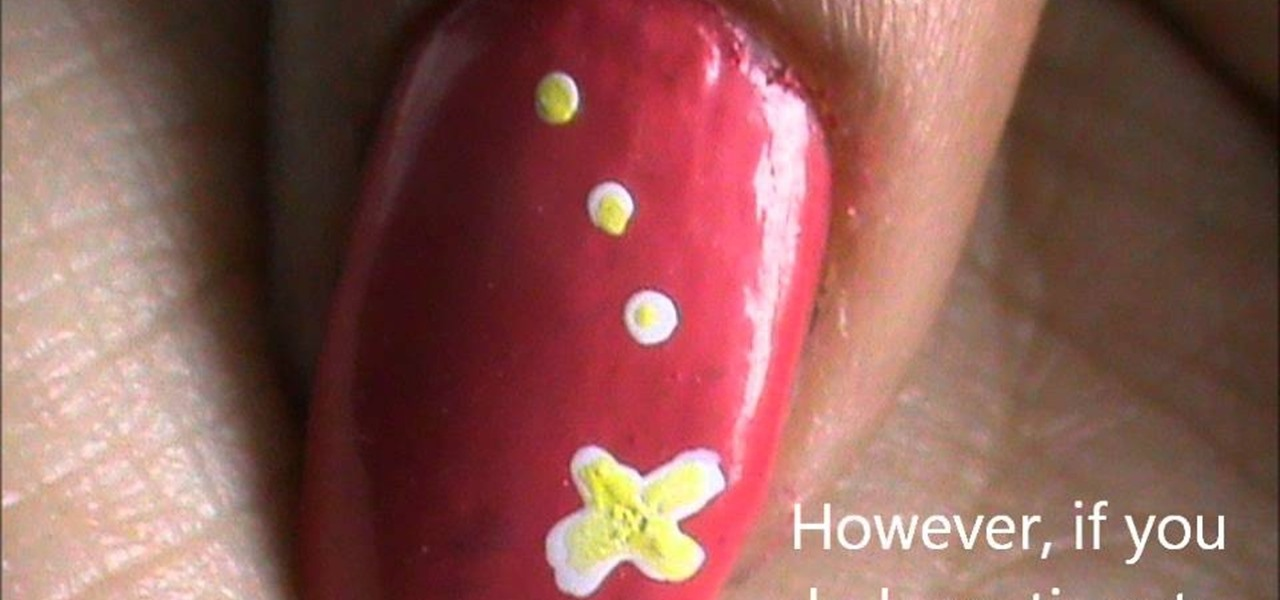 Do One Minute Nail Design