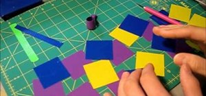 Make an awesome flower ring out of Duct Tape