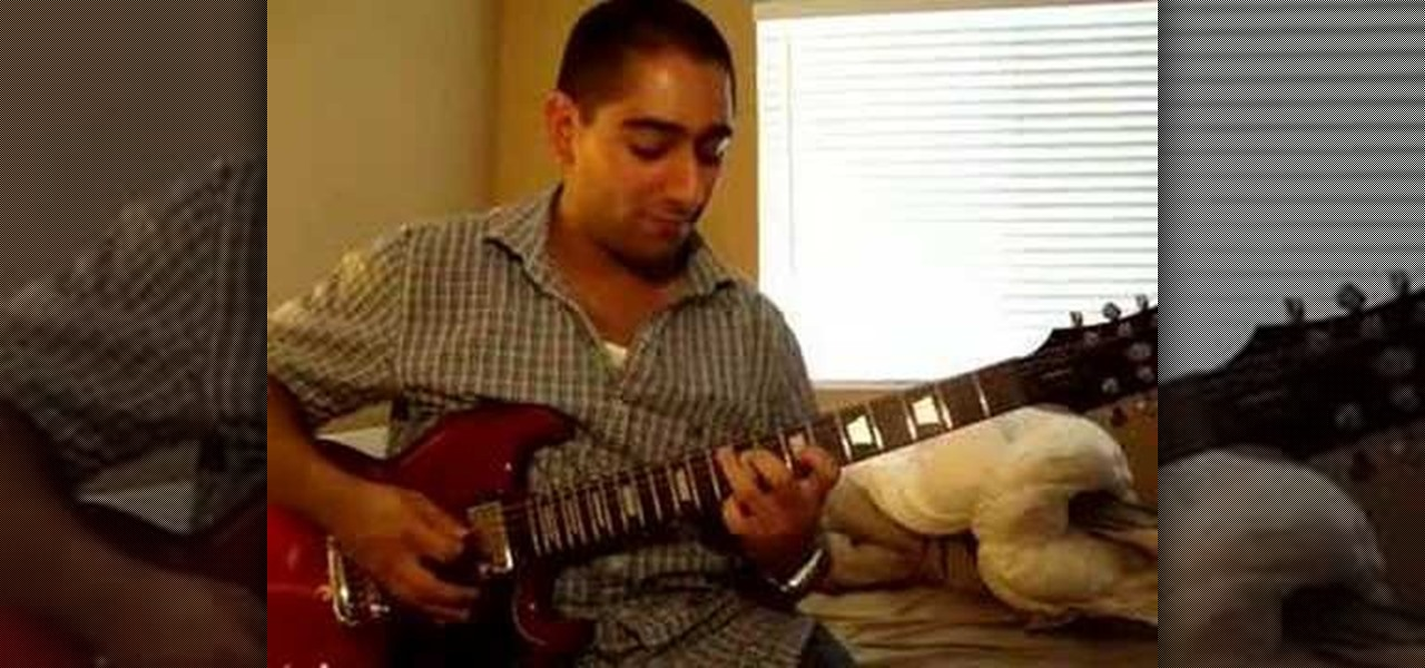 how to harmonize any melody on guitar electric guitar wonderhowto. Black Bedroom Furniture Sets. Home Design Ideas