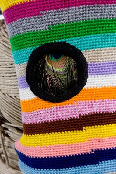 Louise Weaver Creates Crochet Art