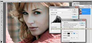 Adjust luminance with the Levels command in Adobe Photoshop CS5