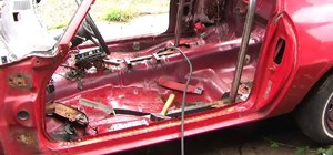 Fabricate and install a roll bar in a stock car