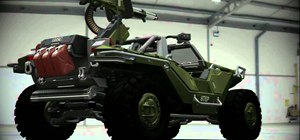 Get the Halo Warthog vehicle in Forza 4