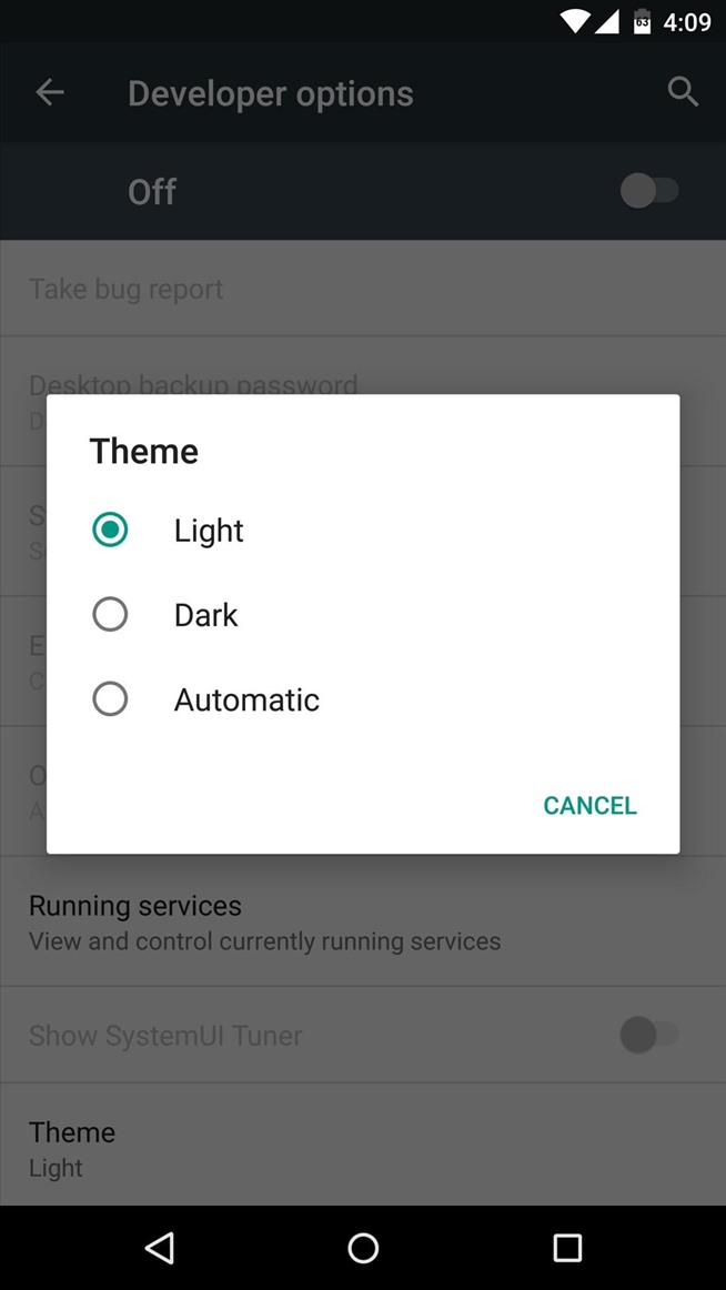 Night Mode Is Coming to Android!