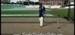 Improve cricket batting skills