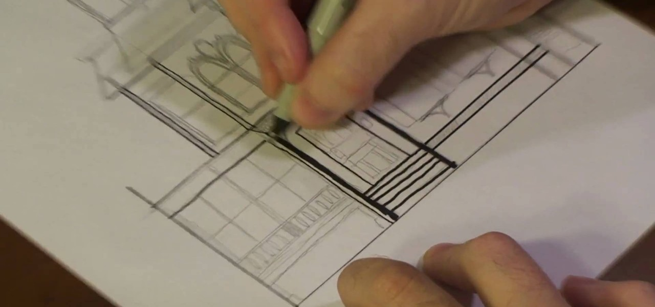 How To Draw A Victorian House 171 Drawing Amp Illustration