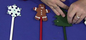 Make classroom pointer sticks