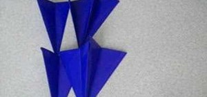 Origami a giant star