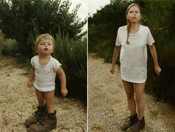 Meticulous Recreations of Old Family Photographs