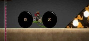Make a wall climbing and jumping vehicle in Little Big Planet