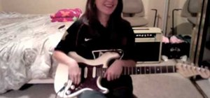 """Play the """"Beat It"""" electric guitar solo"""
