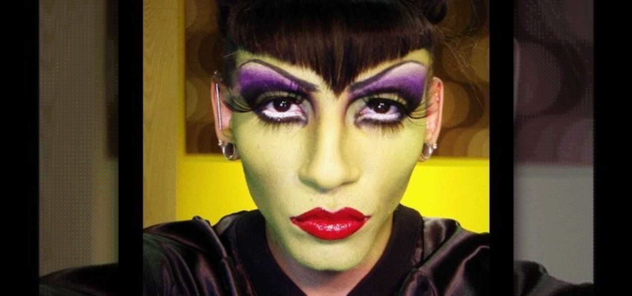 How to Do a Maleficent costume and makeup for a man this - How To Do Halloween Makeup