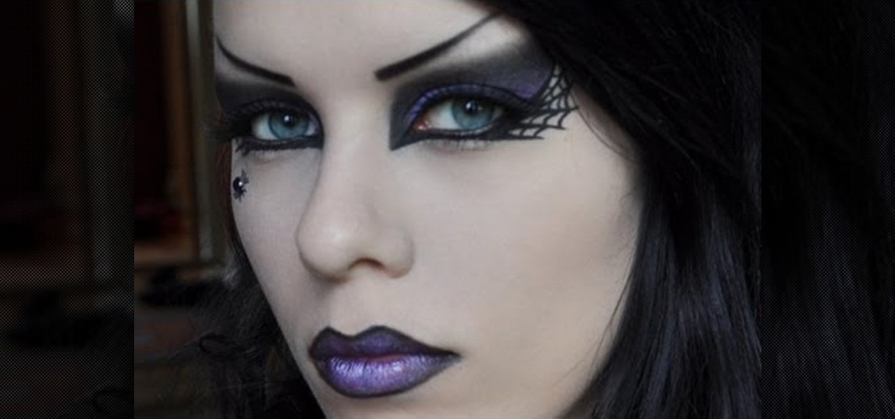 how to create a punk rock witch makeup look for halloween halloween ideas wonderhowto