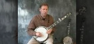 Play forwards and backwards rolls on the banjo