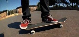 Land a fakie frontside flip on a skateboard