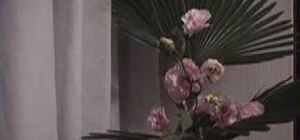 Make another Ikebana flower arrangement