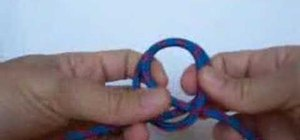 Tie a quick clove hitch knot