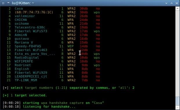 How to Crack WPA/WPA2 with Wifite
