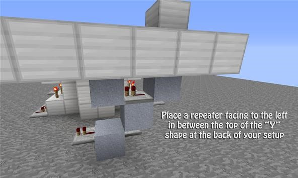 How to Build a Hidden Drawbridge with Redstone in Minecraft